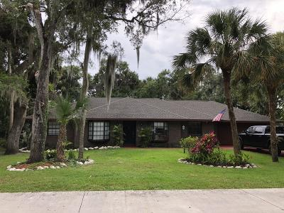 Fort Pierce Single Family Home For Sale: 3601 Wilderness W Drive W