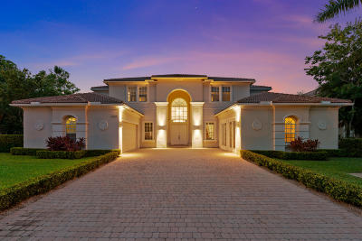 Palm Beach County Single Family Home For Sale: 12300 Equine Lane
