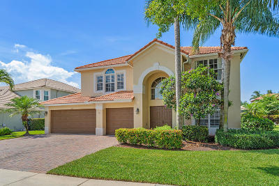 Delray Beach Single Family Home For Sale: 7289 Serrano Terrace
