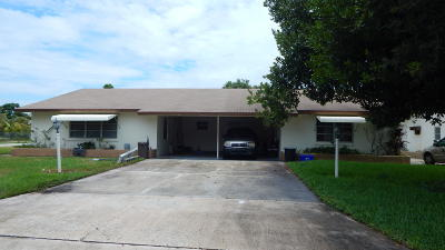 Palm Beach County Multi Family Home For Sale: 1113 Wilkinson Road
