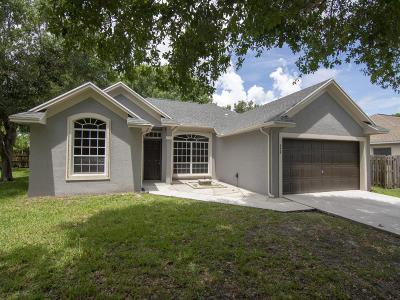 Port Saint Lucie Single Family Home For Sale: 958 SE Proctor Lane