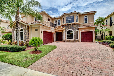Boynton Beach Single Family Home For Sale: 8899 Cobblestone Point Circle