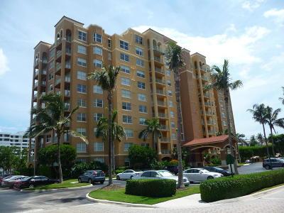 Highland Beach Condo For Sale: 3594 S Ocean Boulevard #107
