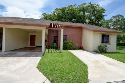 Coconut Creek Single Family Home For Sale: 1794 Satinwood Circle