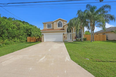 Port Saint Lucie Single Family Home For Sale: 1465 SW Stony Avenue