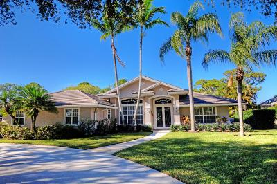 Martin County Single Family Home For Sale: 5205 SE Burning Tree Circle