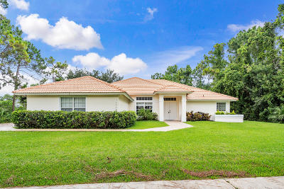 West Palm Beach Single Family Home For Sale: 12288 89th Place