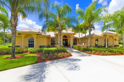Lake Worth Single Family Home Contingent: 8896 Arrowhead Drive