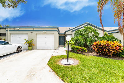 West Palm Beach Single Family Home For Sale: 4519 Feivel Road #46