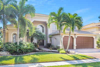 Lake Worth Single Family Home For Sale: 9952 Via Bernini