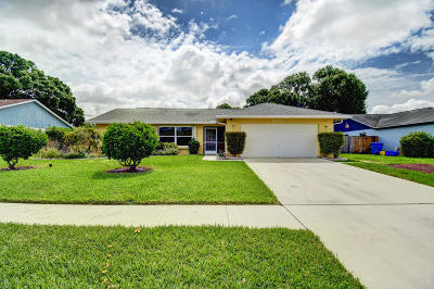 Royal Palm Beach Single Family Home For Sale: 1370 Denlow Lane
