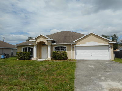 Vero Beach Single Family Home For Sale: 8185 100th Court