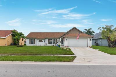 Boynton Beach Single Family Home For Sale: 6425 Indian Wells Boulevard