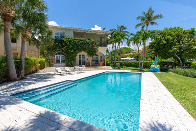 West Palm Beach Single Family Home For Sale: 1025 Flagler Drive