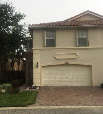 Coconut Creek Townhouse For Sale: 5166 Stagecoach Drive