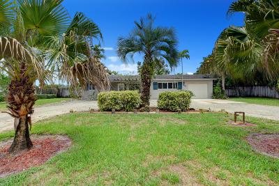 West Palm Beach Single Family Home For Sale: 6614 Katherine Road