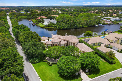 Palm Beach Gardens Single Family Home For Sale: 2955 Calais Drive