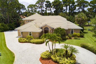 St Lucie County Single Family Home For Sale: 1162 SW Bent Pine Cove