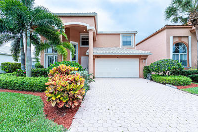 Lake Worth Single Family Home For Sale: 7053 Copperfield Circle