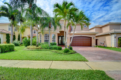 Boynton Beach Single Family Home For Sale: 11187 Millpond Greens Drive