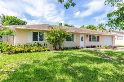 Lake Worth Single Family Home For Sale: 2828 Worcester Road