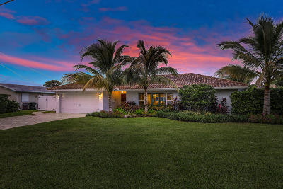 Boca Raton Single Family Home For Sale: 727 Havana Drive