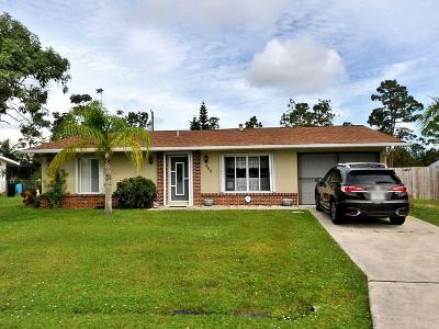 Port Saint Lucie Single Family Home For Sale: 489 SE Galleon Lane