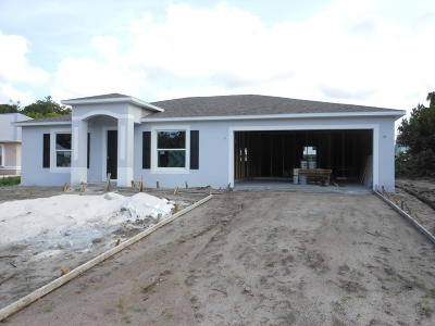 Vero Beach Single Family Home For Sale: 1035 17th Place SW