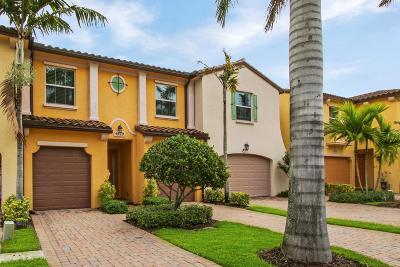 Palm Beach Gardens Townhouse For Sale: 4529 Mediterranean Circle
