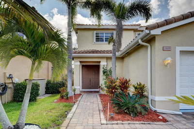 Palm City Single Family Home For Sale: 2889 SW Venice Court