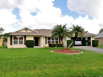 Port Saint Lucie Single Family Home For Sale: 583 SE Maple Terrace