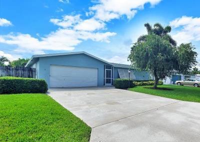 Boynton Beach Single Family Home For Sale: 2548 SW 11th Court