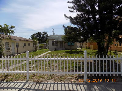 Lake Worth Single Family Home For Sale: 108 S B Street