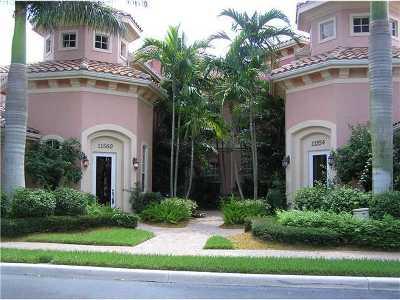 Palm Beach Gardens Rental For Rent: 11558 Villa Vasari Drive