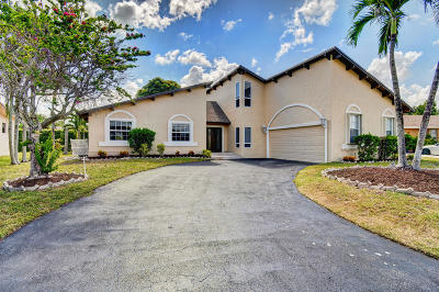 Boca Raton Single Family Home For Sale: 21508 Woodchuck Way