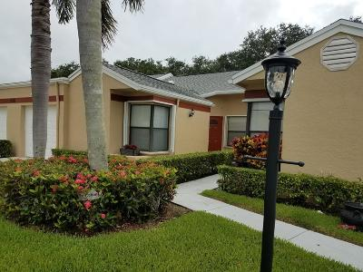 West Palm Beach Single Family Home Contingent: 4561 Discovery Lane #14