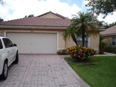 west palm Single Family Home For Sale: 5262 Victoria Circle