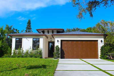 Lake Worth Single Family Home For Sale: 4579 Canal Drive