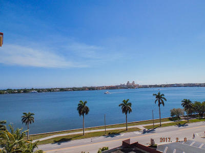West Palm Beach Condo For Sale: 1801 Flagler Drive #808