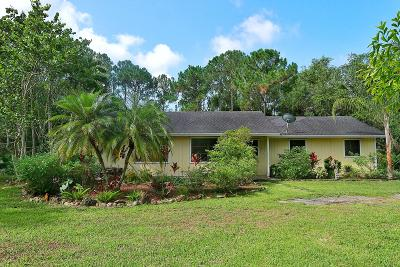 Jupiter Single Family Home For Sale: 13882 153rd Road