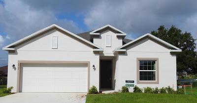Port Saint Lucie Single Family Home For Sale: 6939 NW Denargo Street
