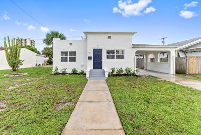 West Palm Beach Single Family Home For Sale: 514 59th Street