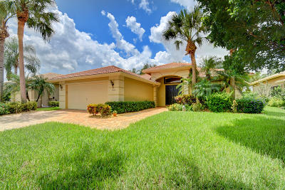 Boynton Beach Single Family Home For Sale: 7885 Via Grande
