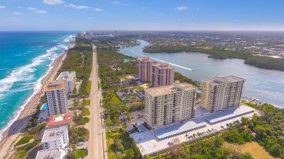 Boca Towers, Boca Towers Condo, Boca Towers Condo Portion Rental For Rent: 2121 Ocean Boulevard #404w