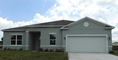 Port Saint Lucie Single Family Home For Sale: 4609 SW Keats Street