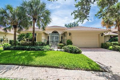 Boynton Beach Single Family Home Contingent: 11066 Via Amalfi