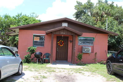 Fort Pierce Single Family Home For Sale: 2510 Ave I