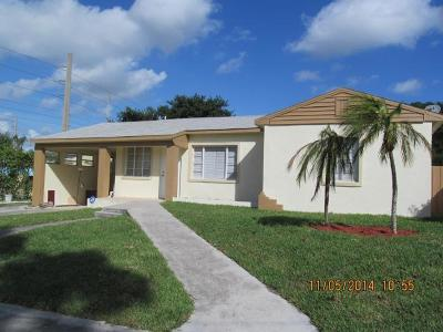 West Palm Beach Single Family Home For Sale: 935 36th Street