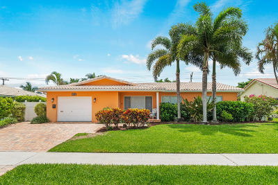 Boca Raton Single Family Home For Sale: 1180 SW 12th Terrace