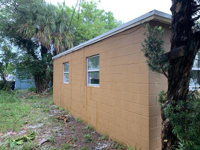 Fort Pierce Single Family Home For Sale: 2510 SW Avenue L Avenue